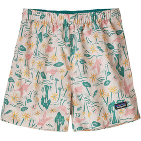 Patagonia Baggies Shorts Kids birds in the lotus/prima pink